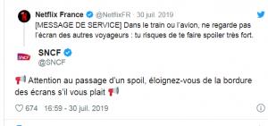 Tweet SNCF CM
